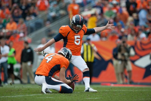 2013 Fantasy Football Kicker Rankings: NFL Week 7