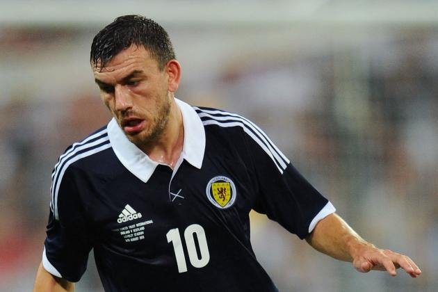Scotland Announce Lineup for Croatia Clash
