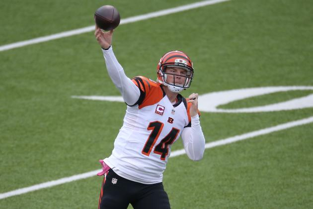 On Bengals QB Andy Dalton and the Deep Ball