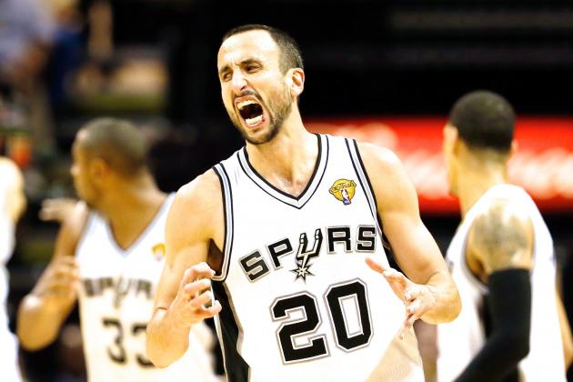 Manu Ginobili's New Contract with Spurs Got Lost During Offseason Bird Attack