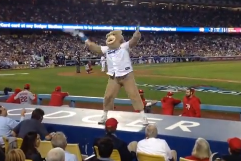 'Rally Bear' Banned from Dodger Stadium for Six Months