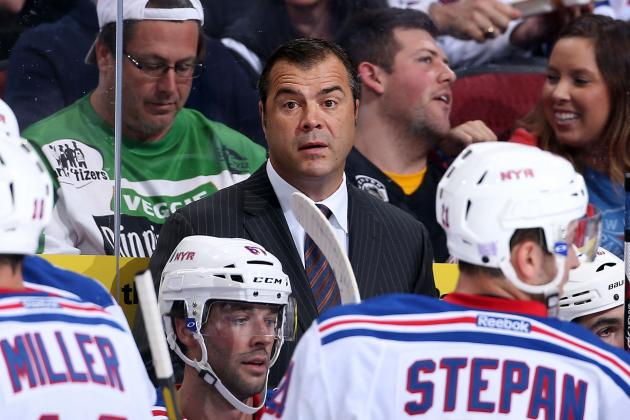 Who's More to Blame for New York Rangers' Rough Start: Vigneault or the Players?