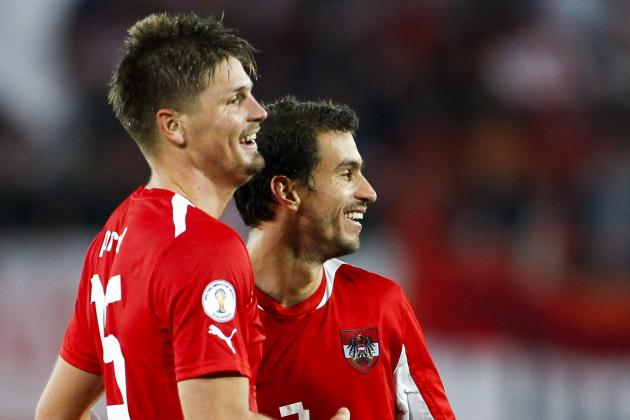 Austria Outclasses Faroe Islands 3-0 in WCQ Finale
