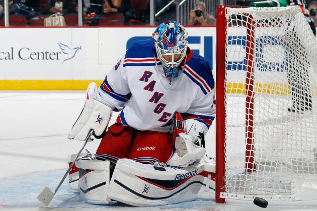 NY Rangers' Cam Talbot Ready for Backing Up Henrik Lundqvist