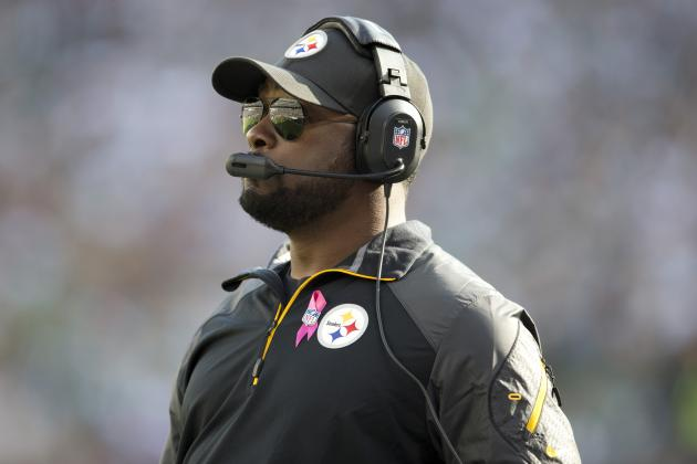 Mike Tomlin Is Tired of All Those Silly Touchdown Flips, so He Banned Them