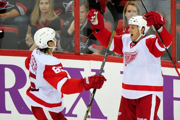 Way-Too-Early Grades for New Detroit Red Wings