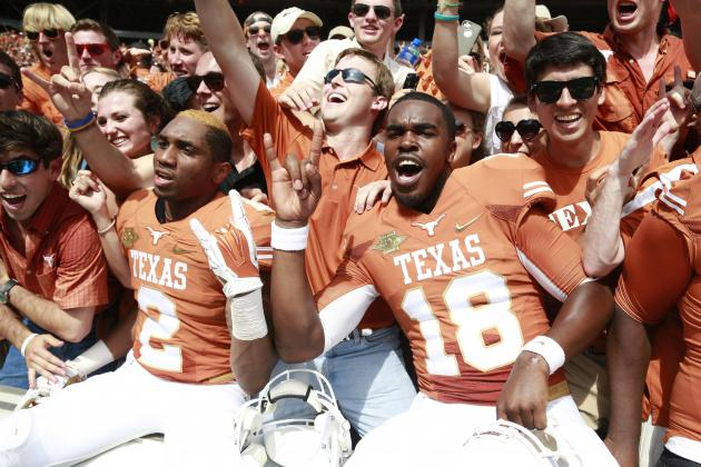 How Texas' Upset over Oklahoma Helps Baylor in Big 12 Title Race