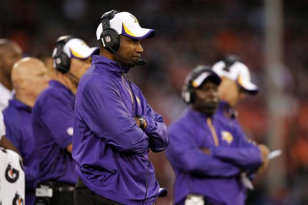 Why Leslie Frazier's Job Is Riding on Next Few Weeks of Vikings Football