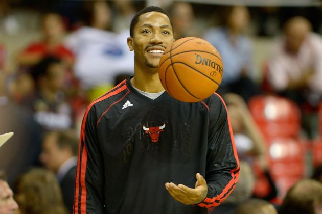 Derrick Rose's Sore Knee Is No Reason for Chicago Bulls Fans to Panic