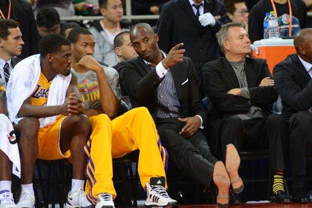 Why Kobe Bryant's Injury Is a Blessing in Disguise for LA Lakers' Chemistry