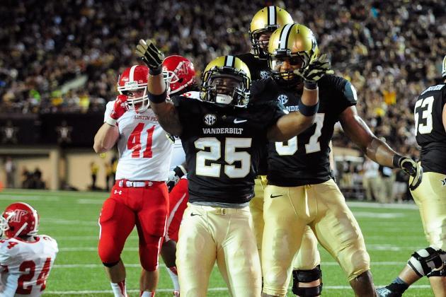 Georgia vs. Vanderbilt: TV Info, Spread, Injury Updates, Game Time and More