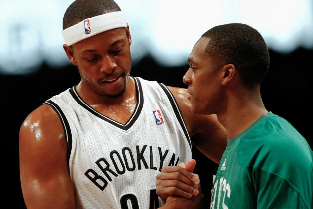 Pierce, Nets Defeat Celtics in Preseason