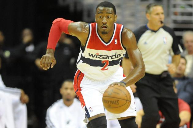 John Wall Goes Behind-the-Back, Dishes Assist to Al Harrington