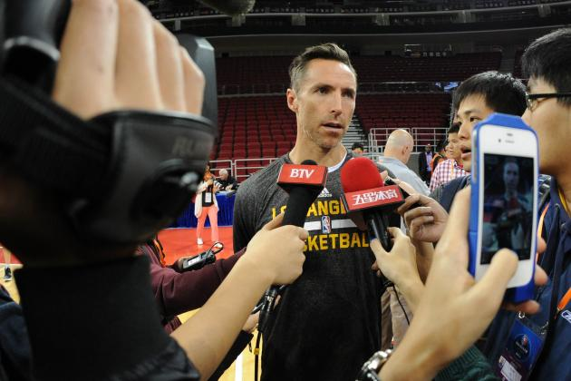 NBA Trade Speculation: Should the Lakers Scrap This Season and Deal Steve Nash?