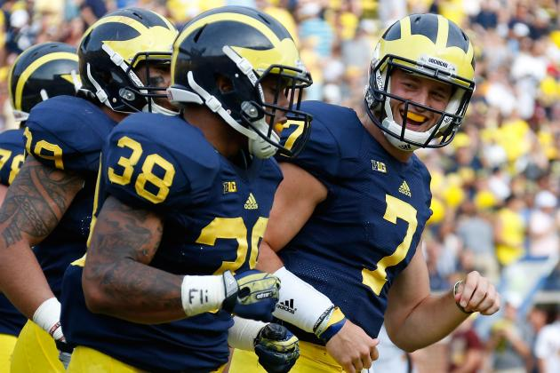Michigan Football: Why Aren't Wolverines Using Talent and Depth at Running Back?