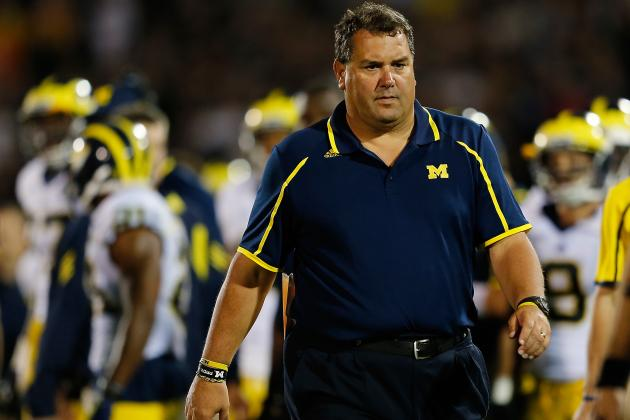 Michigan Football: Brady Hoke & Al Borges Rightfully Defend Late-Game Decisions