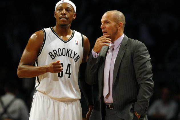 Paul Pierce, Kevin Garnett Renew Acquaintances with Celtics