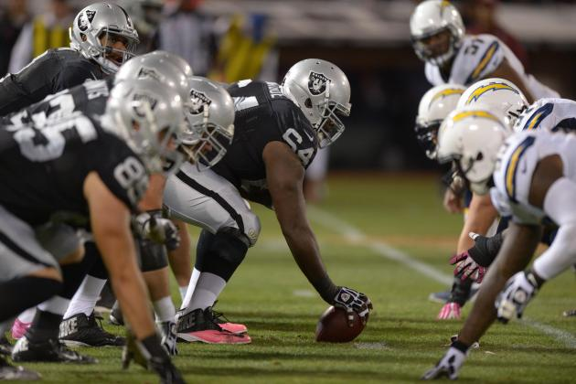Offensive Line Woes Stalling Raiders Turnaround