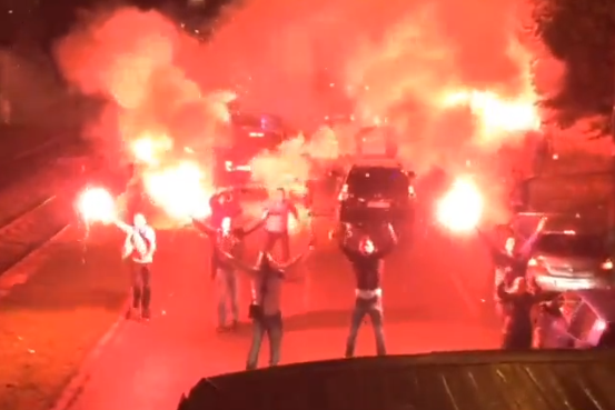 Mad Celebrations in Sarajevo