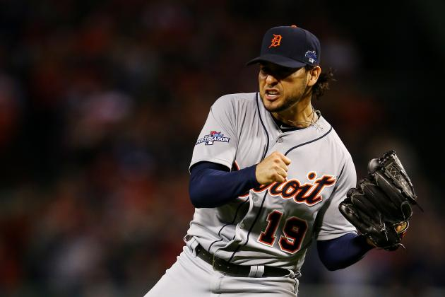 How Jon Lester, Anibal Sanchez Match Up in ALCS' Crucial Game 5