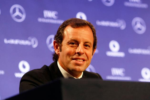 Barcelona President Sandro Rosell Angers Fans Ahead of Real Madrid Clash