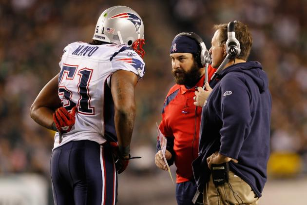 Patriots Will Miss Jerod Mayo's Leadership as Much as Performance