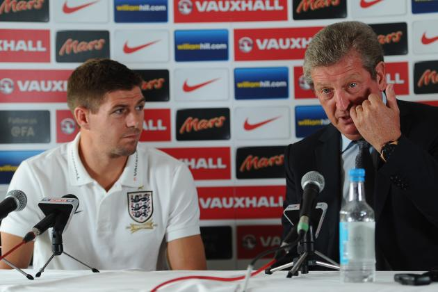 Roy Hodgson Pays Tribute to His Talismanic Captain Steven Gerrard