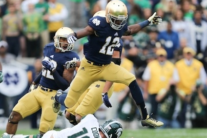 Notre Dame Football: Frosh Butler Climbed Depth Chart in a Hurry