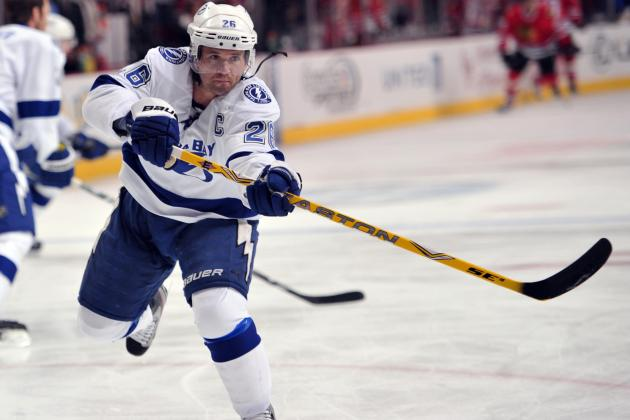 Martin St. Louis Injury: Updates on Lightning Star's Foot, Likely Return Date
