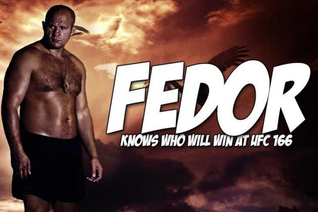 Watch Fedor Breakdown Who's Going to Win Between JDS vs. Cain