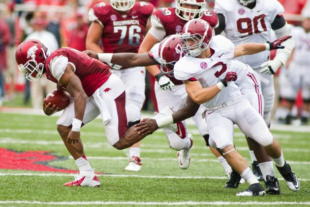 Arkansas vs. Alabama: TV Info, Spread, Injury Updates, Game Time and More
