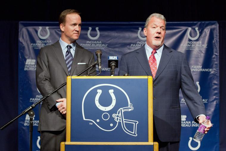 Jim Irsay Smart to Play Mind Games with Peyton Manning Before Broncos vs. Colts