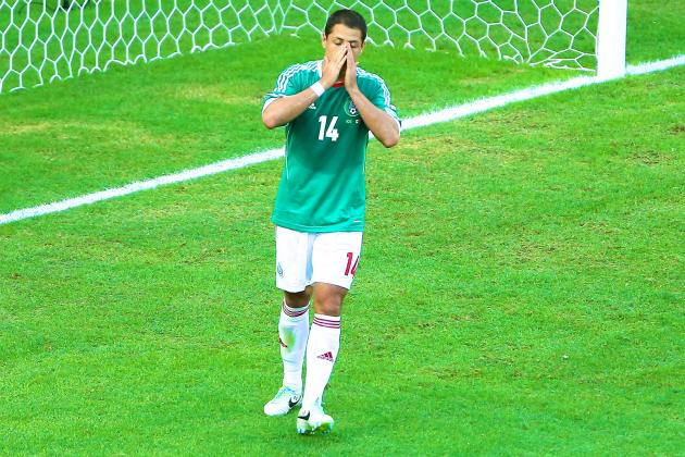 Chicharito Yellow Card: How Mexico Will Cope in Star's Absence