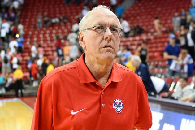 "Syracuse Coach Jim Boeheim On ACC Media Day: ""Same ****, Further South"""