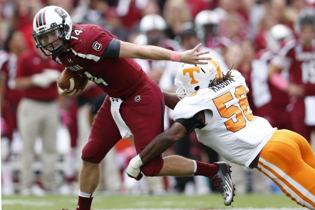 South Carolina vs. Tennessee: TV Info, Spread, Injury Updates, Game Time, More