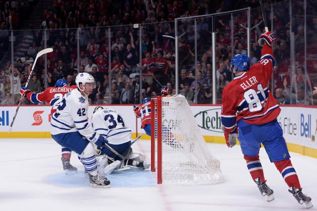 Who Is Montreal Canadiens' Future No. 1 Center: Lars Eller or Alex Galchenyuk?