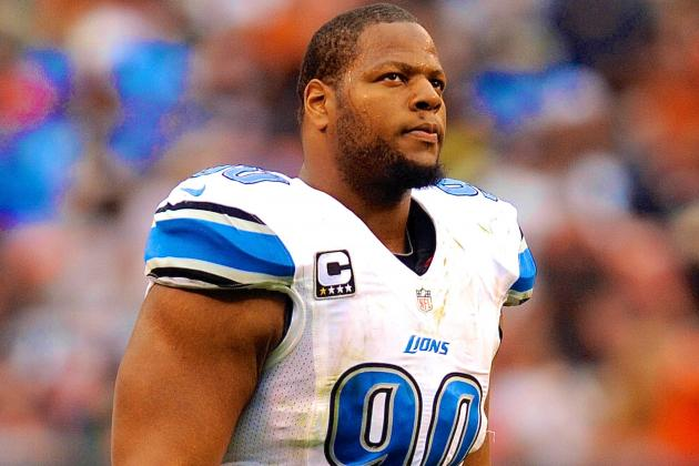 Ndamukong Suh Reportedly Fined $31.5K by NFL for Hit on Brandon Weeden