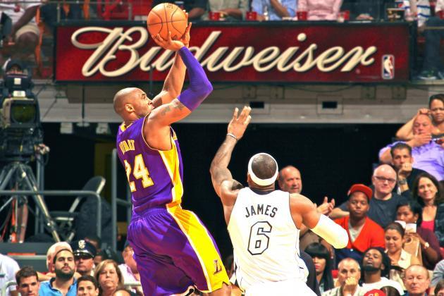 NBA Players Pick Michael Jordan and Kobe Bryant to Take Last Shot Over LeBron