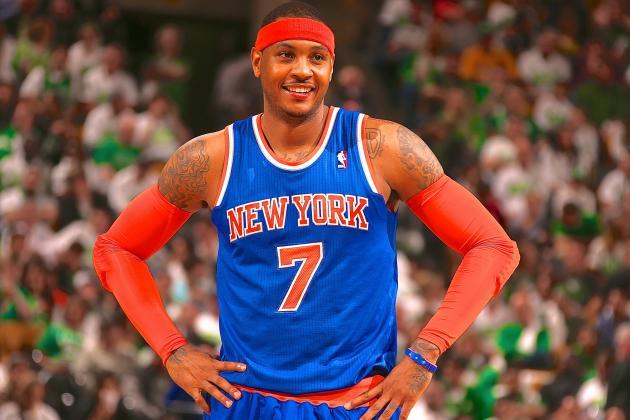 Carmelo Anthony:「可能我會選擇休息今季餘下的所有比賽。」