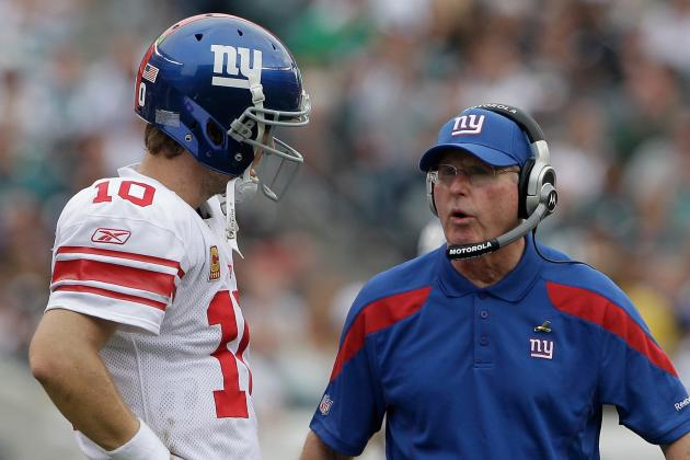 Coughlin Says He Hasn't Pondered Benching Manning
