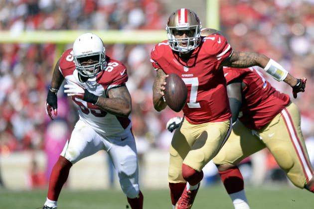 Mic'd Up: Colin Kaepernick vs. Cardinals
