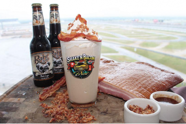 Texas Motor Speedway Introduces Bacon-Beer Milkshake