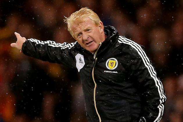 Strachan Says Late Hiring Not to Blame for Scotland World Cup Failure