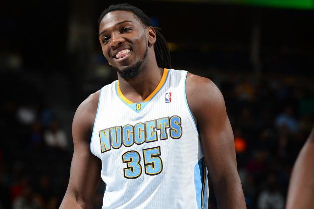 Kenneth Faried Gets Duped by Falling Businessman Prank