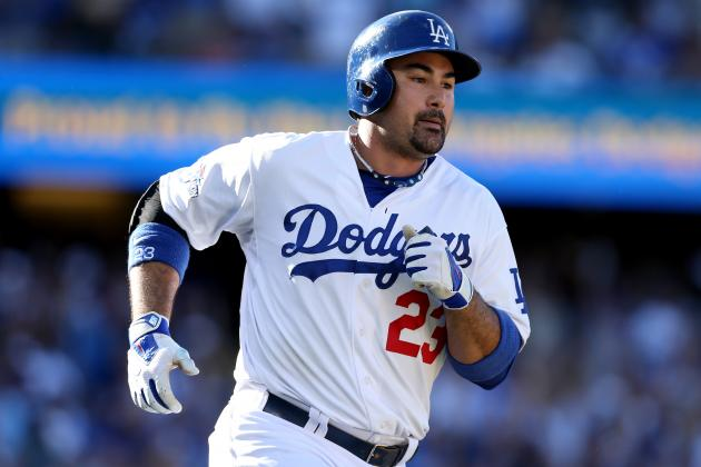 Adrian Gonzalez, Carl Crawford Paying Dividends for Dodgers in Playoffs
