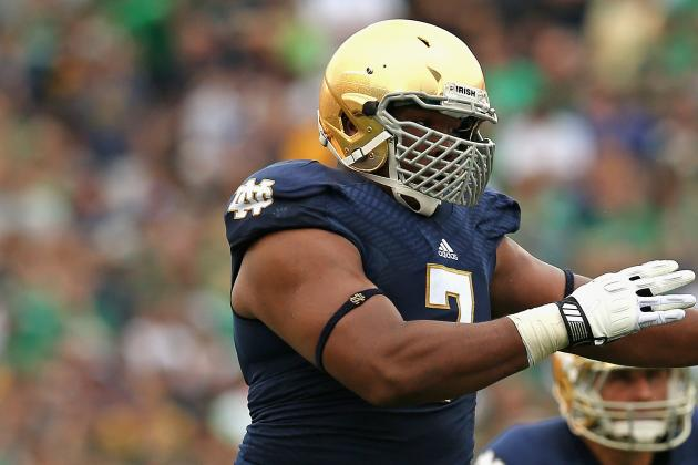 "ND's Stephon Tuitt Posts Cryptic ""Don't Believe Everything You Read"" Tweet"