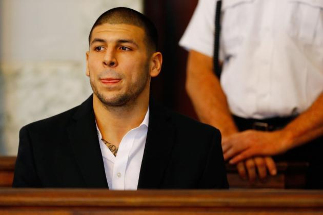 NFLPA Files Grievances for Aaron Hernandez Seeking $6M in Guaranteed Money
