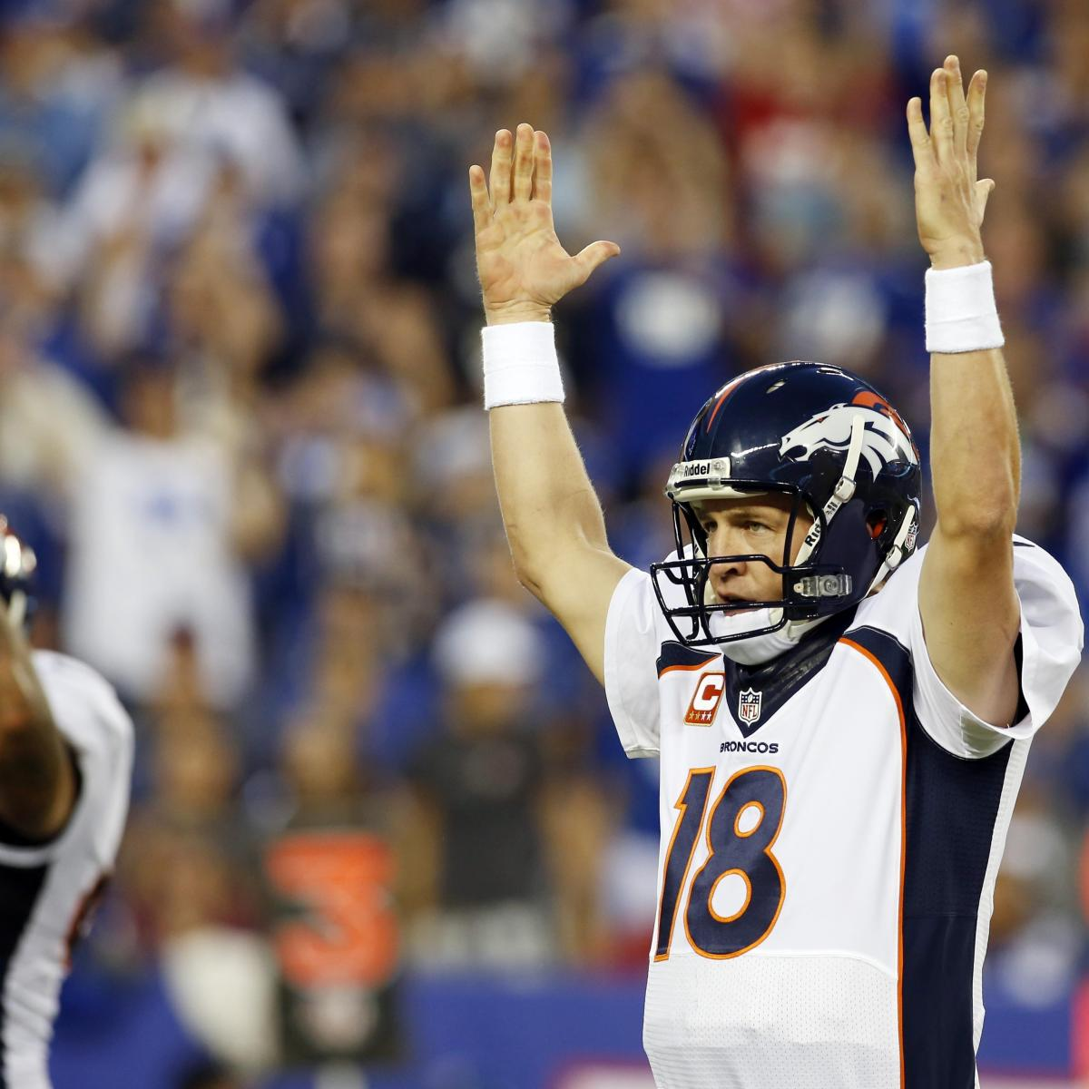 Denver Broncos Vs. Indianapolis Colts: Breaking Down