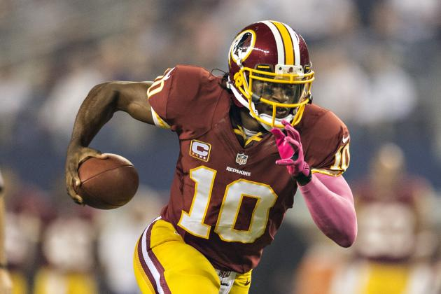 Robert Griffin III Plans to Run More Moving Forward