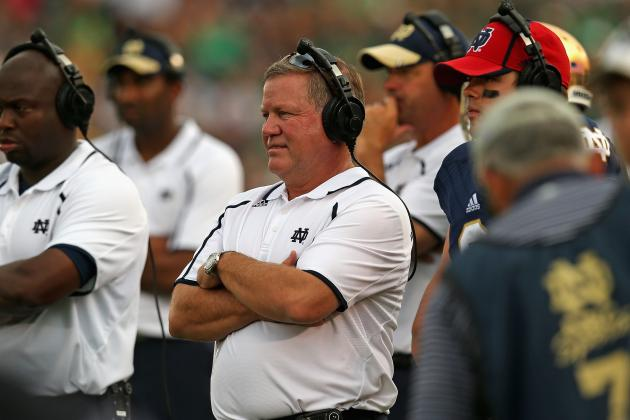 For Brian Kelly and Notre Dame, USC Is a Must-Win Game